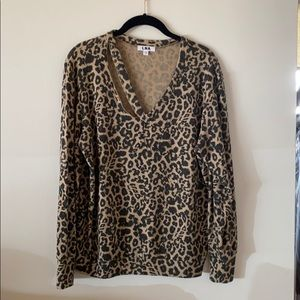 The softest leopard sweater.